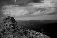 IMG_5377 (Wespennest) Tags: pikespeak colorado coloradosprings manitousprings mountain black white blackandwhite whiteandblack bw rocks granite landscape