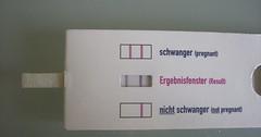 """Der Schwangerschaftstest. Die Schwangerschaftstests. Mit einem Schwangerschaftstest kann eine Frau erfahren, ob sie ein Kind erwartet. • <a style=""""font-size:0.8em;"""" href=""""http://www.flickr.com/photos/42554185@N00/36652494766/"""" target=""""_blank"""">View on Flickr</a>"""