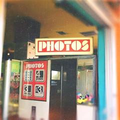 Four poses, three minutes (BLACK EYED SUZY) Tags: arcade tadaa afterlight boardwalk photobooth