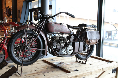 Indian Scout 600 solo