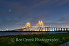 Fred Hartman Bridge at Night (tod grubbs) Tags: houston baytown harriscounty staybridge shipchannel fredhartmenbridge night lit golden cablestaybridge refinery oil