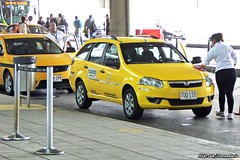 Fiat Palio Weekend Taxi - Bogotá Airport, Colombia (RiveraNotario) Tags: taxis taxi cars autos taxisdecolombia colombia bogotá bogota