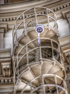 Colorado State Capitol ~ Denver Co ~ Rotunda Interior Staircase
