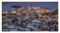 Lisbon, the view from my balcony last night (Richard Murrin Art) Tags: lisbon portugal night richard murrin art photography canon 5d landscape travel images building cool