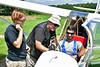Anthony Casson's glider ride  MAS_8124 (massey_aero) Tags: masseyaerodrome cassonfamilygliderridesaug192017 vintagesailplaneassociation vsaeastcoastsailplanemeet sailplane glider