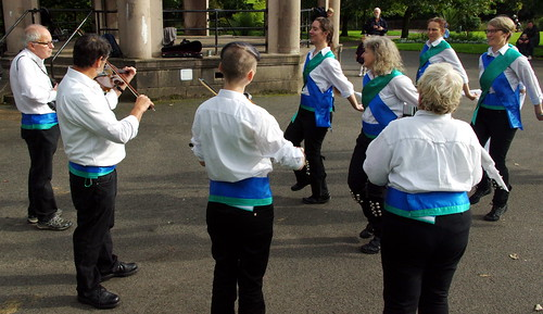 16.9.17 Waters Green and Adlington Morris in Macclesfield 16