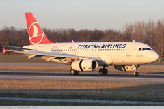 Airbus A319 -132 TURKISH AIRLINES 4695 Mulhouse décembre 2015 (Thibaud.S.Photographie) Tags: airbus a319 132 turkish airlines 4695 mulhouse décembre 2015