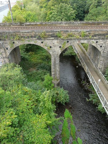 The Water of Leith From the Slateford Aqueduct