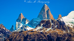 Fitz Roy Massif Close-up (The Happy Traveller) Tags: patagonia elchalten argentina mountains parquenacionallosglaciares nature
