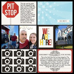 Here is the 2nd page for our trip. #theockeysgotodisneyland #projectmouse #projectlifeapp #affinityapp (girl231t) Tags: ifttt instagram 2017 vacation scrapbook layout 12x12layout projectlifeapp affinityphotoapp