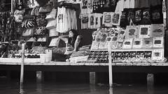Floating Market (Poki5) Tags: leica m typ240 blackwhite street photography bw thailand floatingmarket