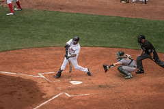 JBJ Batting vs the A's (scroy65) Tags: asvsredsox boston bostonredsox fenwaypark leica leicatl2 mlb oaklandvsboston tl2 massachusetts unitedstates us jbj jackiebradleyjr