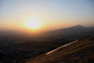 Sunset viewed from Mount Goyje, Sulaymaniyah / Iraqi Kurdistan
