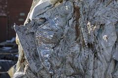 170322-9618-Recycling (Sterne Slaven) Tags: cincinnati ohio cincinnatiohio midwest rustbelt donk queencity ohioriver coal peterose johnnybench thebigredmachine murals recycling recycledpaper edibleohiovalley reedandjulie abandonedfactory abandonedchurch abandonedschool ruinsporn parkinglot overthevine findlaymarket abstract zanesville zanesvilleohio cityhall unionstation carewtower daniellibeskind dewinter sterneslaven cityscape derelict factorybuildings greenhouse funkesgreenhouse cincinnatimurals