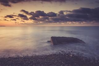 Les ruines de la mer
