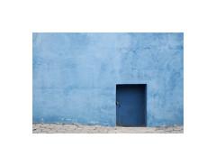 9040548 (ufuk tozelik) Tags: ufuktozelik wall door padlock sidewalk blue closed texture urban