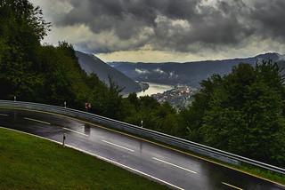 Die Donau bei Engelhardszell (OÖ)