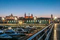 North East Marina (MichalKondrat) Tags: polska szczecin długaekspozycja jachty zachodniopomorskie bulwary rzeka noc wałychrobrego wieczór przystań odra dźwigozaury województwozachodniopomorskie poland pl