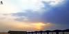 "chase the sun ("" Don Quixote "") Tags: sky sunset riyadh ksa saudi warehouses cloud blue"