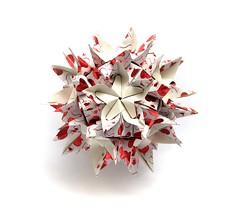 kusudama (Vladimir Phrolov) Tags: modularorigami origami modular petals kusudama paperfolding paper folding vladimirfrolov