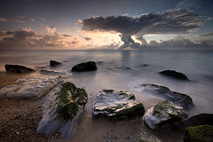 bursting through (explored) (Lee Woodcraft) Tags: seascape norfolk sunrise d7200