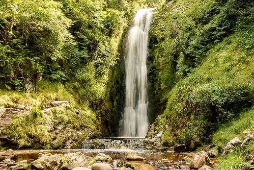 Glenevin Waterfalls