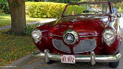 1951 Studebaker Champion Convertible (GerdaKettner) Tags: 1951studebakerchampionconvertible classiccars cars studebaker convertible westdundee kanecounty