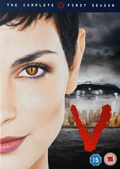 V (season one) (KvikneFoto) Tags: film dvd