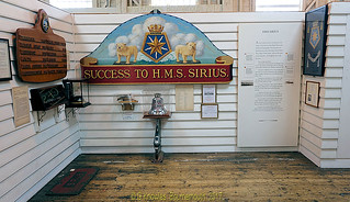 Exhibit in one of the Museums in Portsmouth Historic Dockyard, Victory Gate, HM Naval Base, Portsmouth PO1 3LJ,  England.