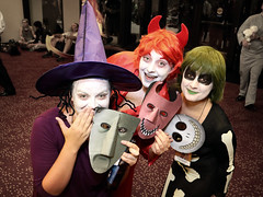 Oogie's Boys... uh, I meant Girls (greyloch) Tags: dragoncon costumes cosplay 2017 thenightmarebeforechristmas canonrebelt6s niksoftware animatedcharactercostumes animatedcharacter moviecharactercostume moviecharacter rule63