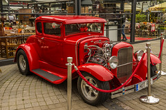 1932 Ford Deuce Coup (tatlmt) Tags: europe balticstates latvia riga ford deuce coup