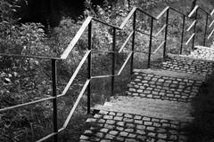 Zickzack (AxelN) Tags: stairs geländer deutschland treppe badenwürttemberg schwarzweis germany balustrade nagold handrail blackandwhite bw sw