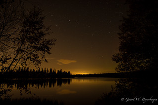 Islet Lake and the Big Dipper