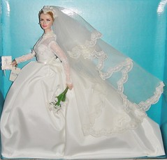 2011 Silkstone Grace Kelly The Bride Doll (2) (Paul BarbieTemptation) Tags: 2011 grace kelly bride barbie doll silkstone silkie gold label wedding glamour golden age hollywood