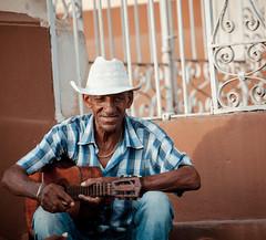 Cuba - Musician in Trinidad (Cyrielle Beaubois) Tags: 2016 cuba cyriellebeaubois décembre carribeans caraibes december portrait music musica musician trinidad