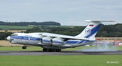 RA-76950 Volga Dnepr IL-76TD Glasgow Prestwick 10/8/17 (BS Images.) Tags: il76 volgadnepr russia freighter airport aircraft aviation ayrshire egpk glasgowprestwick gpa prestwick prestwickairport pik southayrshire scotland