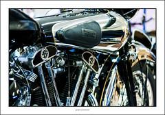 Brough Superior (G. Postlethwaite esq.) Tags: broughsuperior canon40d canonefs60mmmacro dof nationalmotorcyclemuseum beyondbokeh bokeh depthoffield motorcyle photoborder primelens selectivefocus