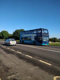 Arriva North East Enviro 400 NK09FNC 7516