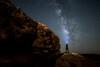 Lighting the Milkyway (Alex&HisNikon) Tags: milkyway ramoncrater selfportrait israel desert stars nightsky nikond750 samyang14mm