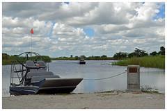 Air boat [Explored] (GadgetHead) Tags: airboat us usa unitedstatesofamerica unitedstates florida loxahatcheenationalwildliferefuge wetlands ustrip2 2017 nikond3100 nikon d3100 dslr tamron tamron16300mm everglades explore explored