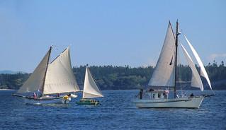 Birder Boat 'tween the Cuttters