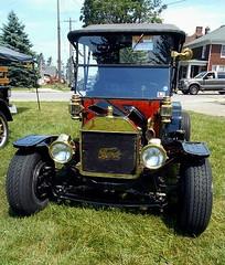 1914 Ford Model T (splattergraphics) Tags: 1914 ford modelt hotrod customcar carshow fairmountpark redlionpa