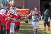 2017_T4T_Atlanta Falcons Training Camp87 (TAPSOrg) Tags: teams4taps atlanta falcons football trainingcamp 2017 august taps tragedyassistanceprogramsforsurvivors military nfl atlantafalconsphotographer outdoor horizontal crowd player candid redshirt highfive