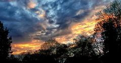 Dämmerung (wernerfunk) Tags: hessen wolken abend