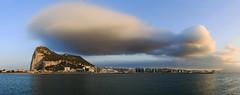 Gibraltar Skyline - The Cloud (FH | Photography) Tags: gibraltar uk england europa upperrock city stadt skyline tag horizontal panorama pano wolke wetter wasser himmel gebäude ufer küste grenze cloud algeciras bucht hafen regnerisch mond form wetterumschwung skyscraper