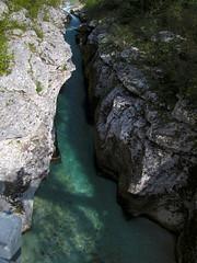Soča pri Krševcu / Soča at Kršovec (Damijan P.) Tags: bovec slovenija slovenia korita gorge gore hribi monutains prosenak