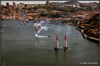 RED BULL PORTO 2017 NOS TREINOS 01-09 = RED BULL AIR RACE TO PORTO IN 2017-09-01