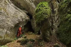 Entrée de la Grotte de la Chauve Souris - Canyon d' Amondans (inedit) (francky25) Tags: entrée de la grotte chauve souris amondans inedit franchecomté doubs