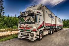 Göranssons X (johan.bergenstrahle) Tags: 2017 finepics umeå august augusti fordon hdr juli july lastbil mercedes sommar summer sverige sweden truck vehicle