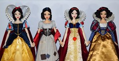 My Snow White Limited Edition 17'' Dolls - Shanghai, Rags, Original, D23 - Midrange Front View (drj1828) Tags: disney disneystore disneyparks shanghai 2009 2016 2017 limitededition le doll collectible 17inch sidebyside groupphoto snowwhite princess snowwhiteandthesevendwarfs rags wishing